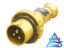 16A Marine Brass Watertight Plug