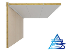 Non-Gap Type P Composite Rock Wool Ceiling