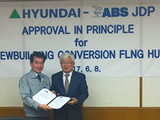 ABS Grants AIP for HHI FLNG Hull