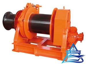 One Drum Type Hydraulic Single Mooring Winch