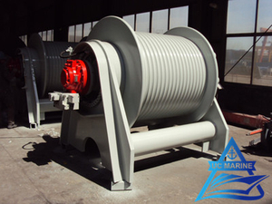 Winch for Dredger