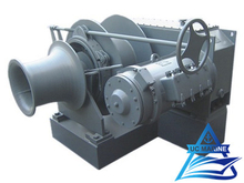 Electric Single Drum Mooring Winch