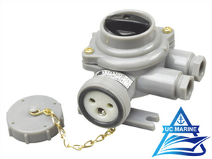 Marine Nylon Socket with Switch CZKS209