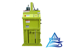Vertical Rubbish Baler Machine for Ship