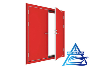 Shipboard Cabin Double-leaf Fire Door