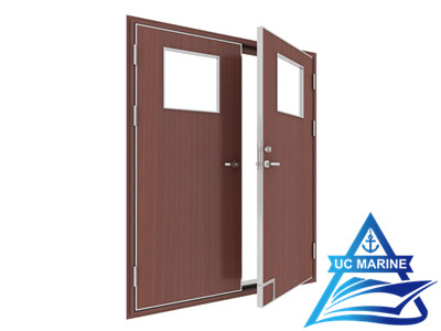 Marine Interior Double Leaf Fireproof Door