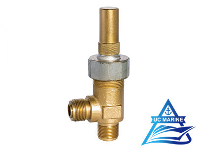Male Thread Bronze Angle Liquid Safety Valve