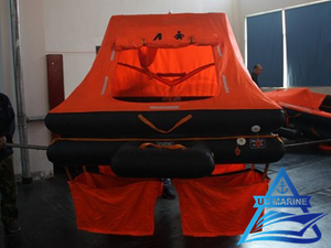 Throw Over Board Inflatable Liferaft for Yacht