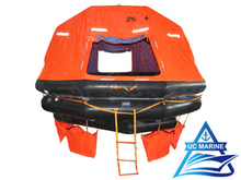 Self-Righting Inflatable Life Raft